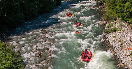 Whitewater rafting tour on the Green River
