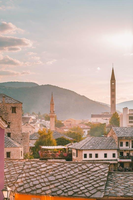 Besuchen Sie die Wasserfälle Mostar und Kravice von Dubrovnik aus mit einem privaten Auto