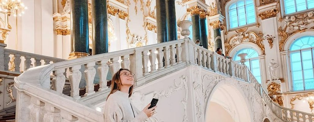 St. Petersburg Hermitage museum entrance ticket and self-guided tour