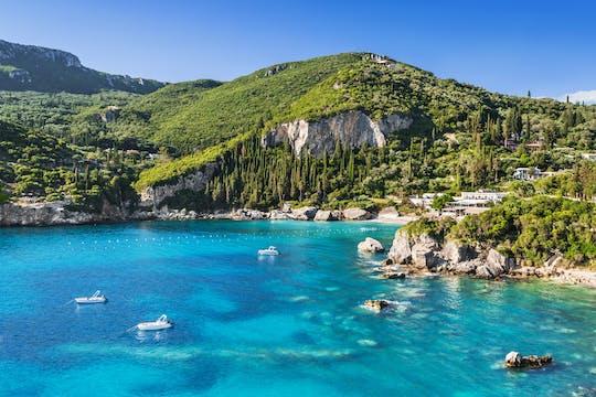 Explore as praias de Corfu: excursão terrestre a Paleokastritsa e Glyfada