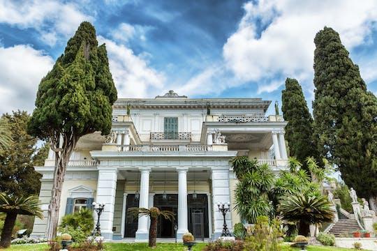 Korfu w jeden dzień: Pałac Achillion, Paleokastritsa i Stare Miasto