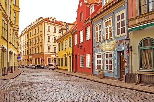 Passeio histórico por Riga com um morador