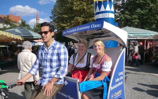 Passeio turístico de 1 hora em eRickshaw por Munique