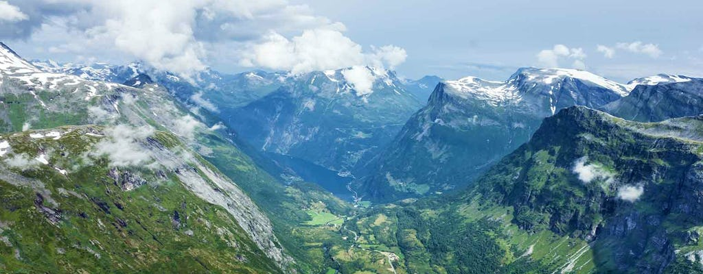 Visitez le mont Dalsnibba et Eagle Road depuis Geiranger
