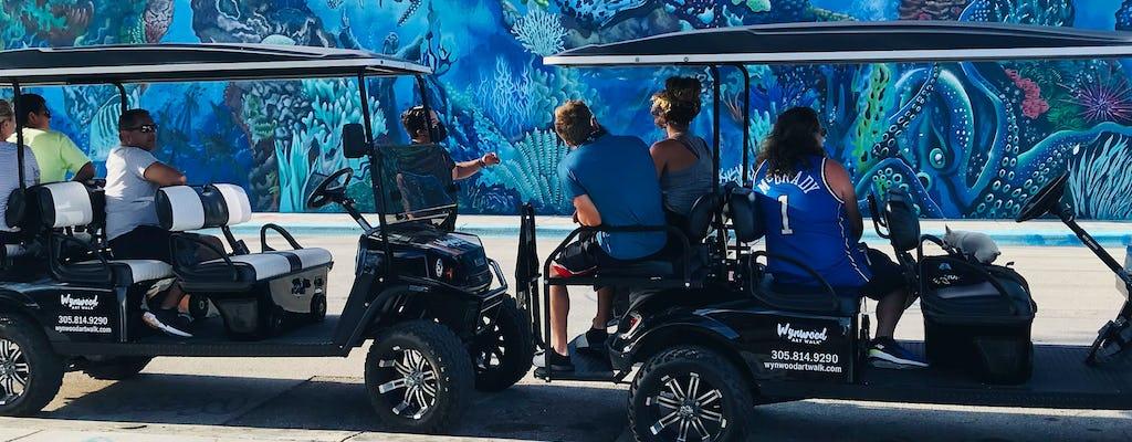 Tour en carro de golf de graffiti de Wynwood