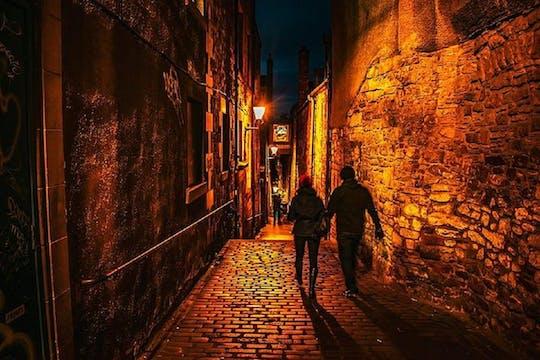 História sombria de Edimburgo - tour de áudio autoguiado usando um aplicativo