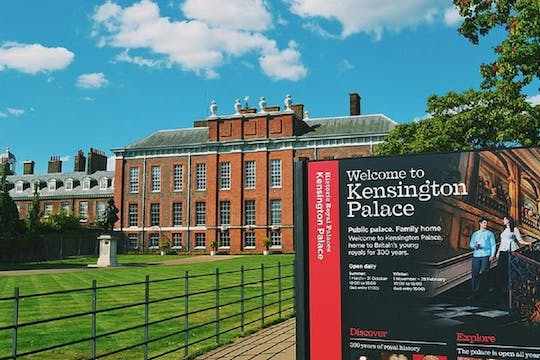 Self-guided audio tour in Kensington Palace including entrance tickets