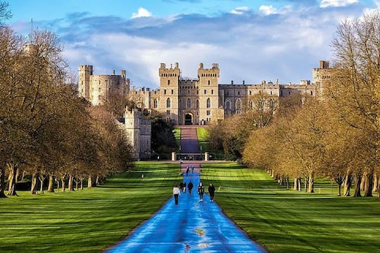 Windsor Castle entrance ticket including self-guided tour on an app