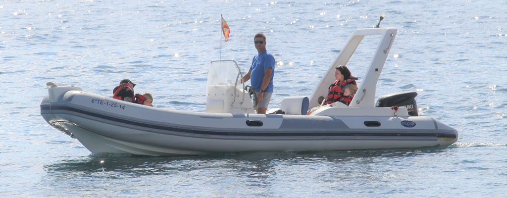Частная поездка на лодке на юге Тенерифе