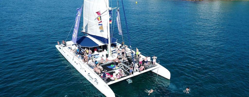 Expérience d'une journée en catamaran à Cambrils