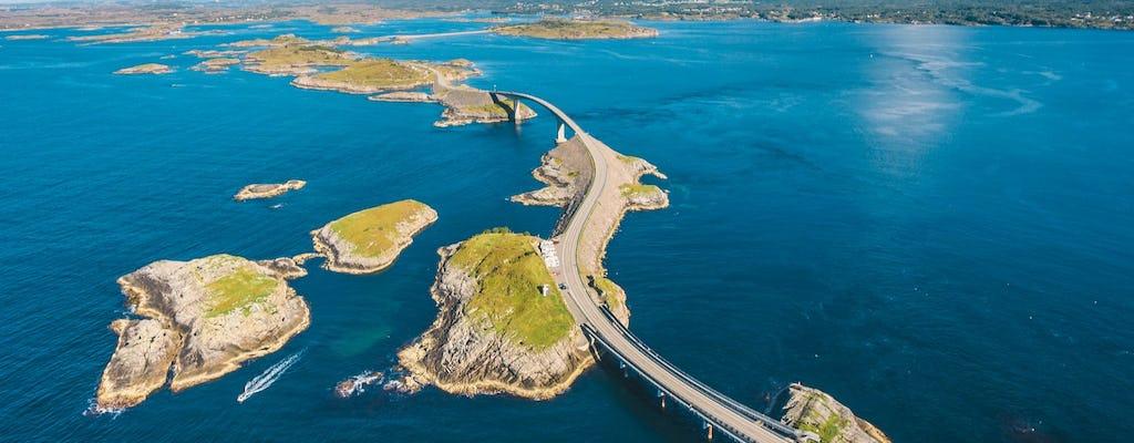 Rijd vanuit Molde over de avontuurlijke Atlantic Ocean Road