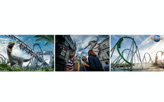 Universal Orlando Resort Park-to-Park 2 Parchi: biglietti per 1 e 2 giorni