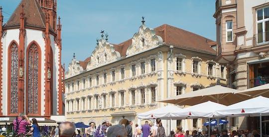 City tour guiado por Würzburg com presente de vinho