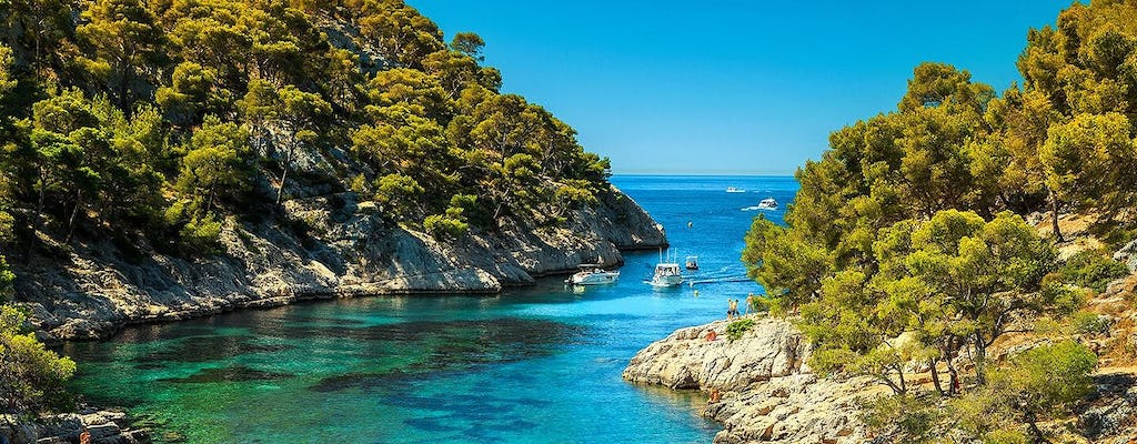Private tour to the calanques of Cassis and Aix-en-Provence