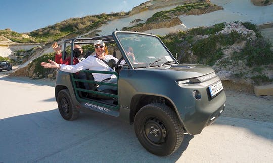 Gozo Electric 4x4 Small Group Tour