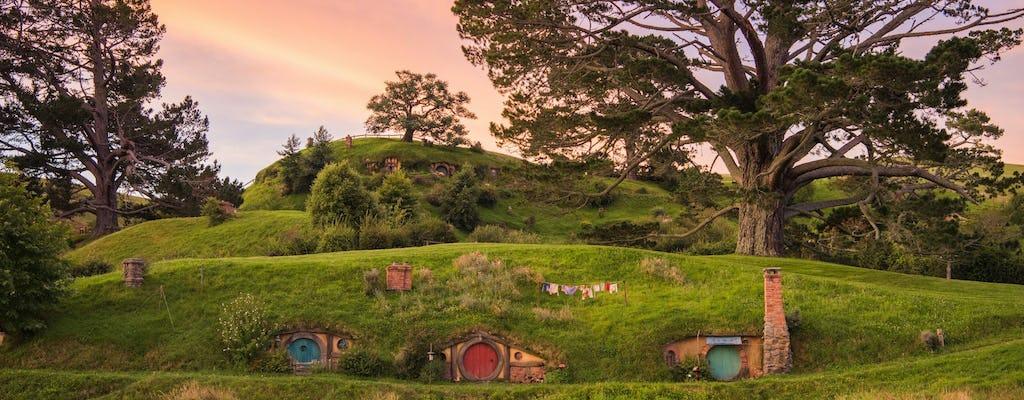 Doświadczenie Śródziemia - plan filmowy Hobbiton i dolina geotermalna Te Puia