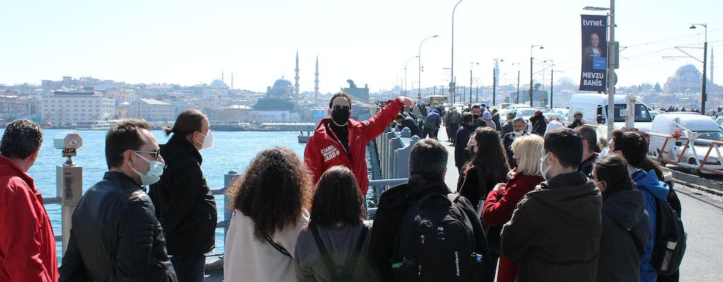 Istanbul Old City and Taksim small-group walking tour with a local guide