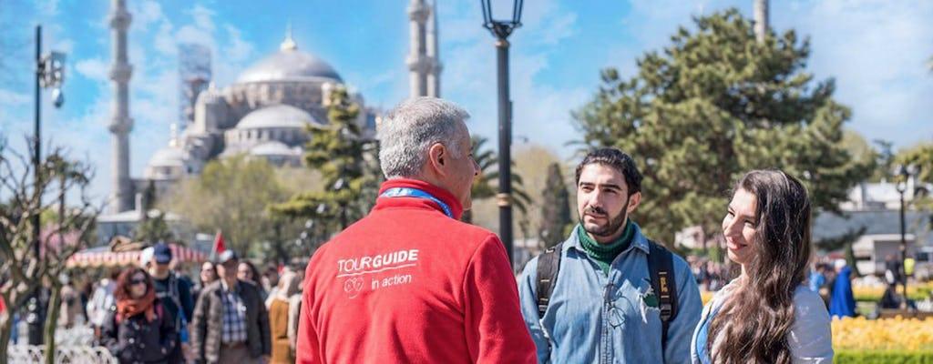 Собор Святой Софии, Голубая мечеть и сад дворца Топкапы-пешеходная экскурсия для небольшой группы с местным гидом