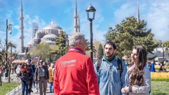 Hagia Sophia, Mesquita Azul e Jardim do Palácio de Topkapi excursão a pé para pequenos grupos com um guia local