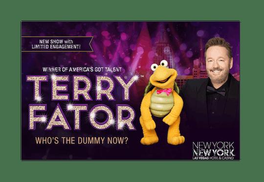 Entradas para el espectáculo de Terry Fator en Las Vegas