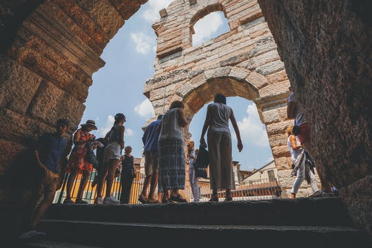 Verona Arena semi-private Tour with Fast Track