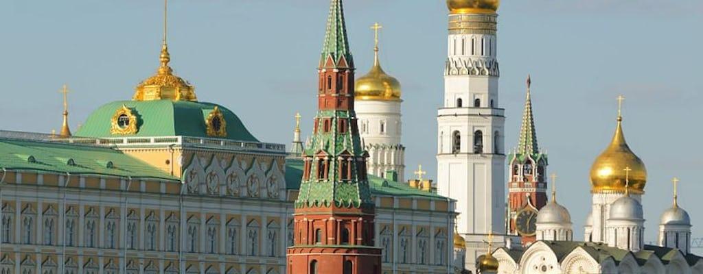 Tour de audio autoguiado del Kremlin de Moscú con entrada