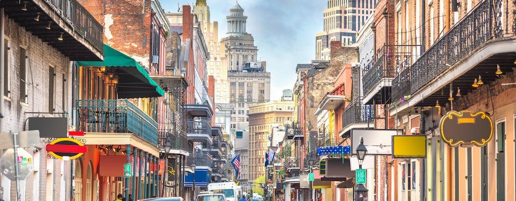 De stadsbusrondleiding door New Orleans