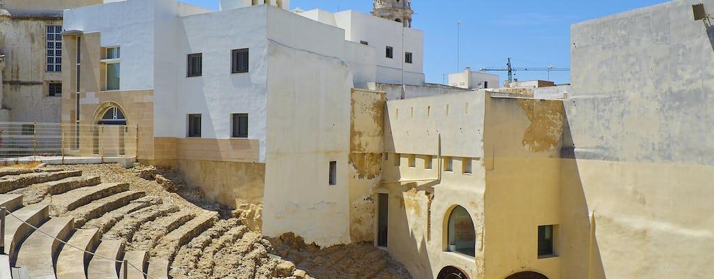 Cádiz-Rundgang mit Eingang zu den Denkmälern