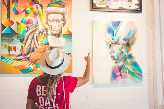 Tour a piedi della street art di Miami con degustazione di birra