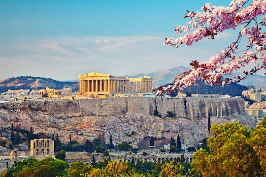 Panoramiczna i wirtualna wycieczka po Akropolu w Atenach