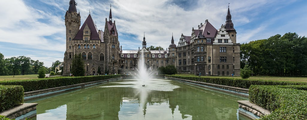 Moszna Castle and Plawniowice Palace private guided tour from Krakow