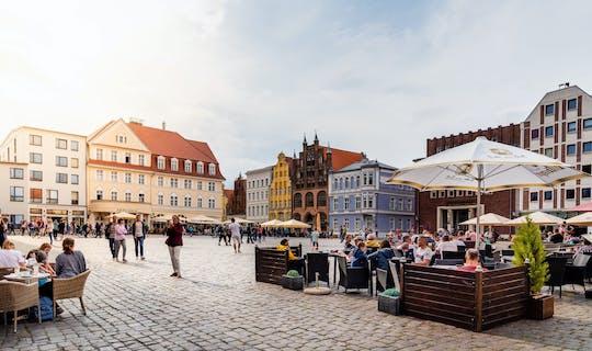 Wycieczka piesza z przewodnikiem Best of Stralsund z kościołem St. Marienkirche