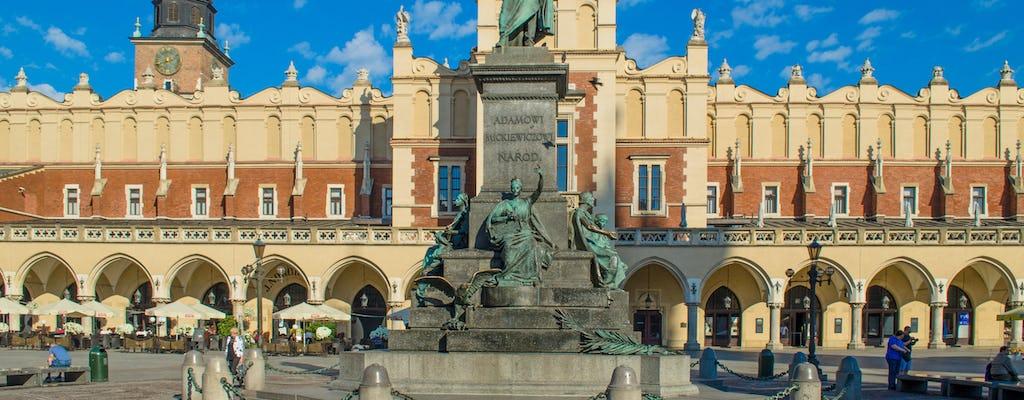 Recorrido por lo más destacado de la ciudad privada de Cracovia en coche eléctrico