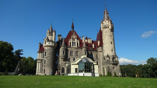 Visita guidata privata del castello di Moszna da Wroclaw