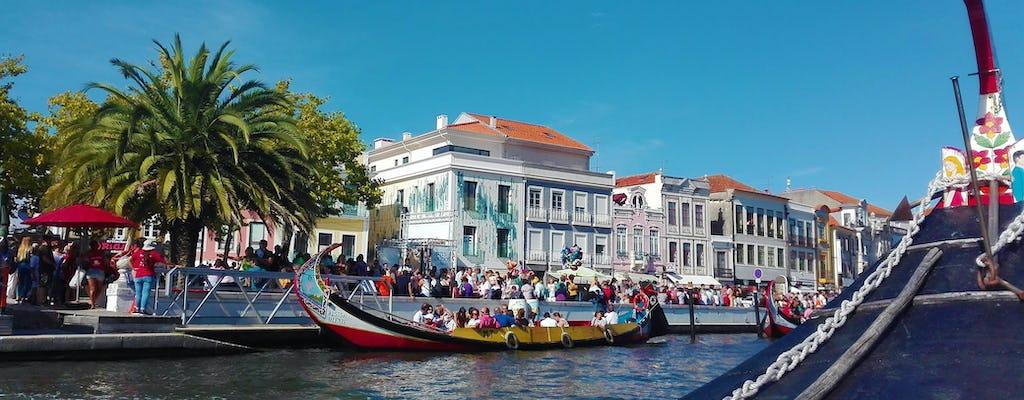 Viaggio da Coimbra a Porto con visita guidata ad Aveiro e giro in barca