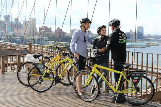 Tour en bicicleta por el puente de Brooklyn