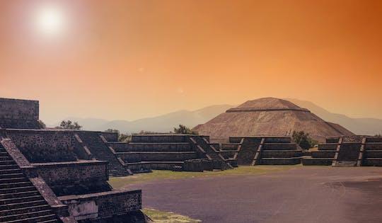 Visita guiada à tarde ao sítio arqueológico de Teotihuacan