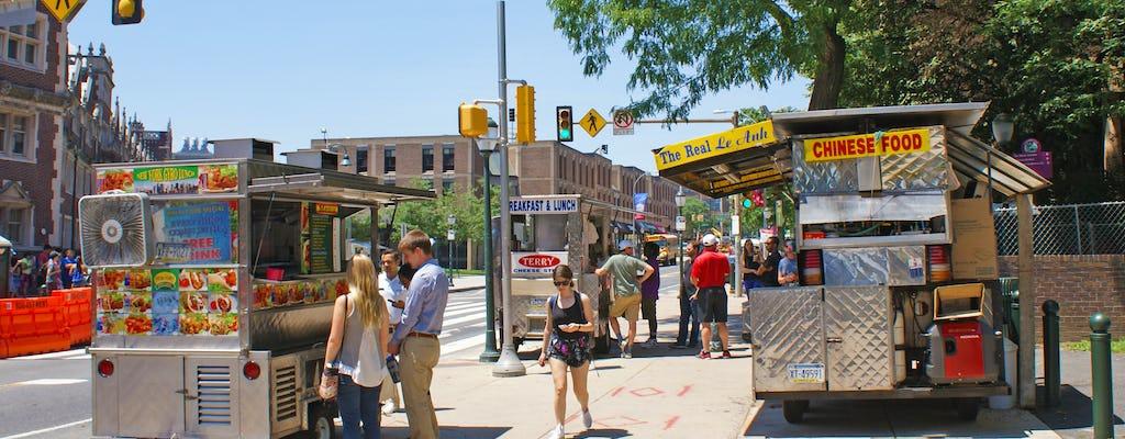 Private Philadelphia University City and food trucks tour