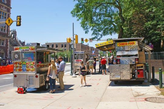 Tour privato della Philadelphia University City e dei camion di cibo