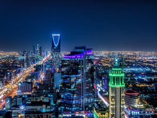 Toegang tot Sky Bridge bij Kingdom Centre inclusief transfer vanuit Riyad