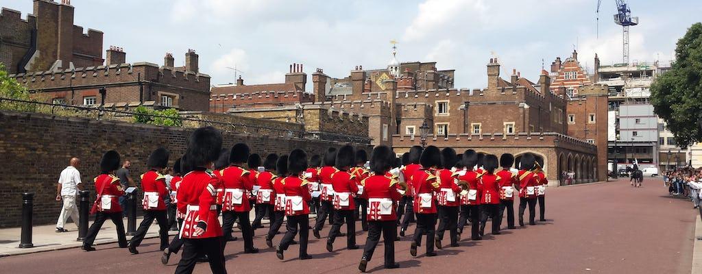 Tour guidato a piedi della cerimonia del cambio della guardia