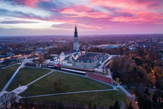 Viaggio privato al monastero di Jasna Gora e Czestochowa da Wroclaw
