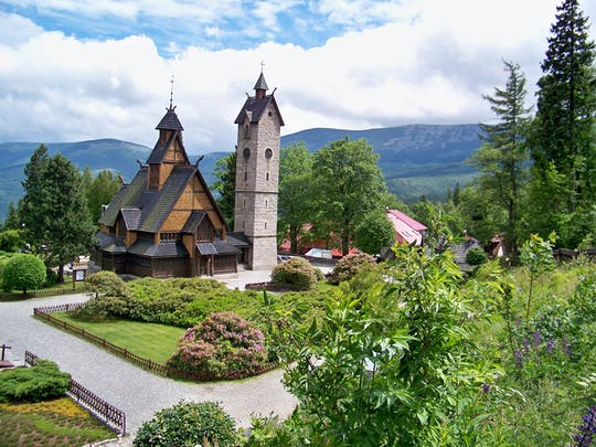 Tour privato di un'intera giornata dei Monti dei Giganti, Karpacz e Valle dei Palazzi