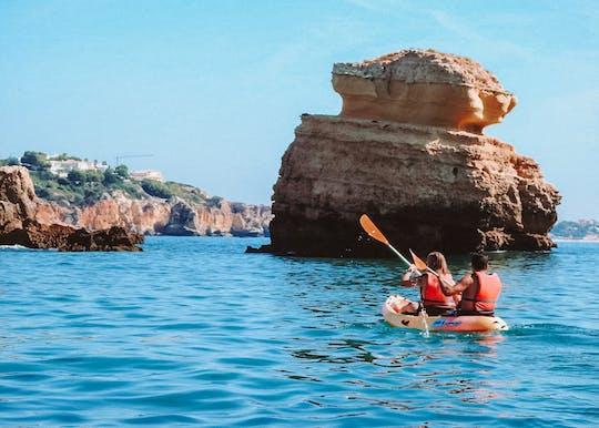Tour in kayak delle grotte di Albufeira