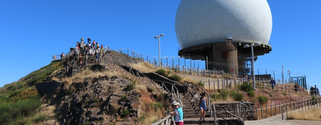Nonnenvallei en Pico do Arieiro 4x4-tour met open dak