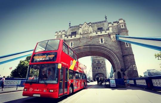 Recorrido turístico en autobús con paradas libres por la ciudad de Londres