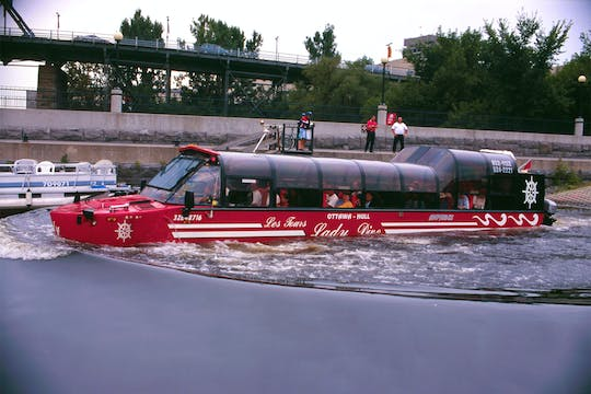 1-day Hop-on Hop-off tour & Amphibus combo in Ottawa