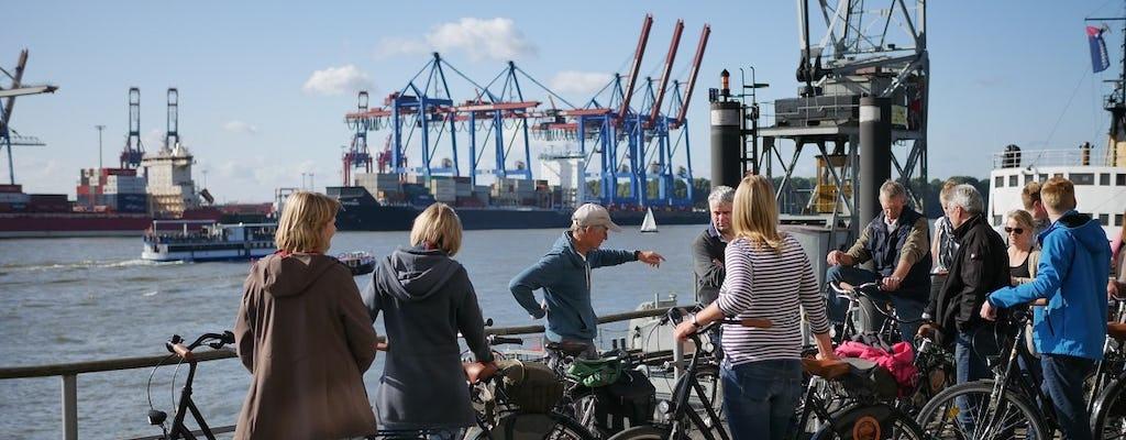 Prywatna wycieczka rowerowa z przewodnikiem wzdłuż Łaby w Hamburgu