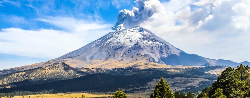 Excursion guidée au parc naturel des volcans au départ de Mexico