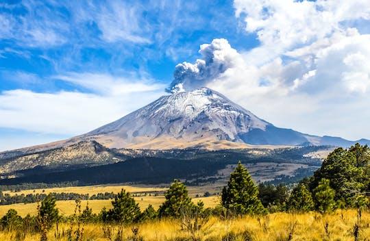 Excursión guiada al parque natural de los volcanes desde la Ciudad de México